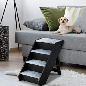 Wooden dog stairs